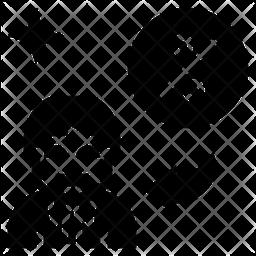 Taxation Glyph Icon