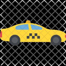 Taxi Flat Icon
