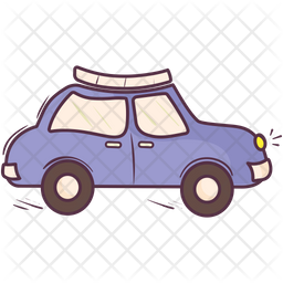 Taxi Doodle Icon