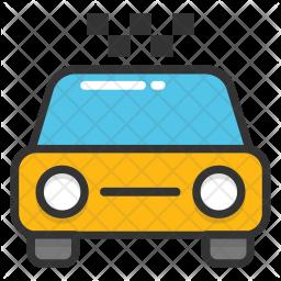 Taxi Cab Hire Icon