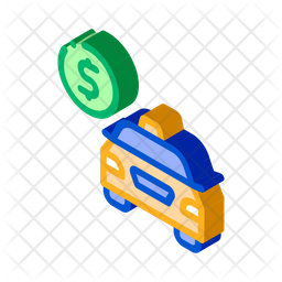 Taxi Payment Icon
