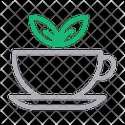 Tea Line Icon