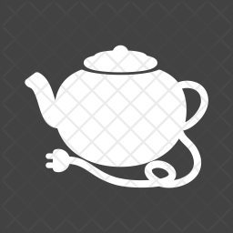 Tea Glyph Icon