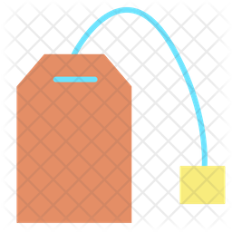Tea Bag Flat Icon