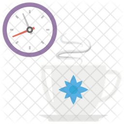 Tea Break Icon Of Flat Style Available In Svg Png Eps Ai Icon Fonts