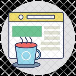 Tea Shop Website Icon