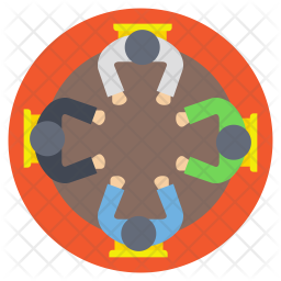 Team Collaboration Icon Of Flat Style Available In Svg Png Eps Ai Icon Fonts