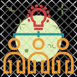 Team idea Icon