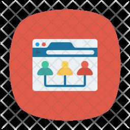 Team Organization Icon