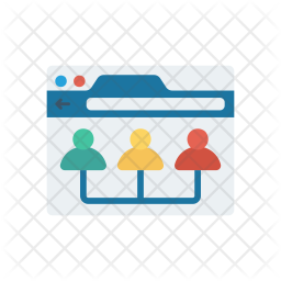Team Organization Flat Icon