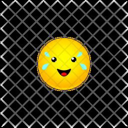 Tears Of Joy Smiley Emoji Icon
