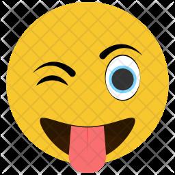 Teasing Emoji Icon