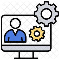 Technical Support Colored Outline Icon