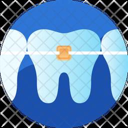 Teeth braces Icon
