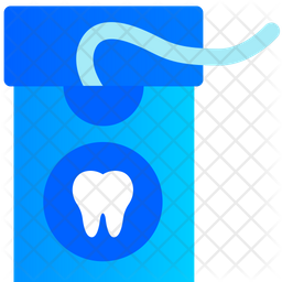 Teeth Cleaning Thread Icon