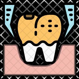 Teeth extraction Icon