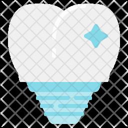 Teeth implants Icon