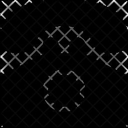 Telephone Glyph Icon