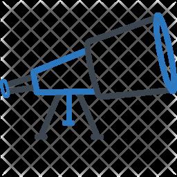 Telescope r Icon
