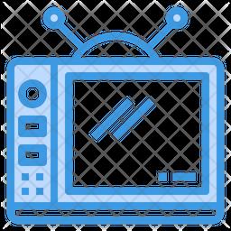 Television Dualtone Icon