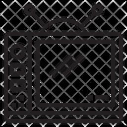 Television Line Icon