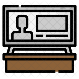 Television Advertisement Icon