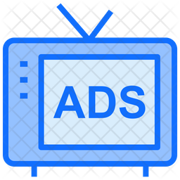 Television Advertising Icon