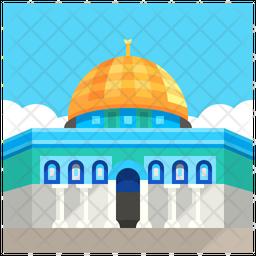 Temple Mount Icon