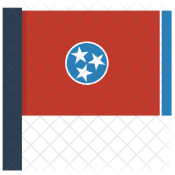 Tennessee Flag Icon