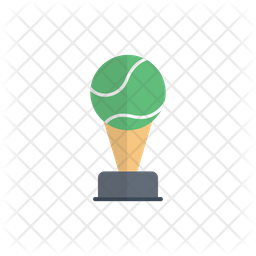 Tennis Trophy Icon