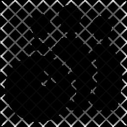 Tenpins Glyph Icon