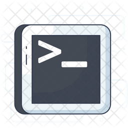 Terminal Icon Of Colored Outline Style Available In Svg Png Eps Ai Icon Fonts