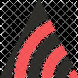 Ternary Contour Plot Icon