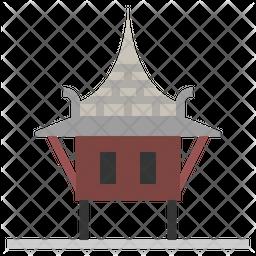 Thai House Icon