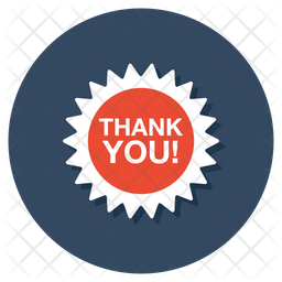 Thank You Icon Of Flat Style Available In Svg Png Eps Ai Icon Fonts