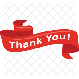 Thank You Banner Icon Of Flat Style Available In Svg Png Eps Ai Icon Fonts