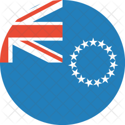 The cook islands Icon