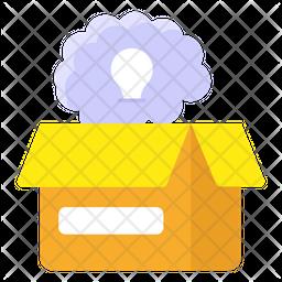 Think Outside Box Icon