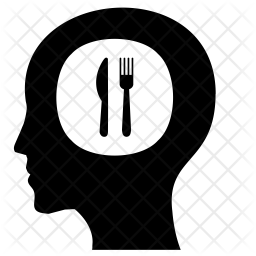 Thinking about restaurant Icon
