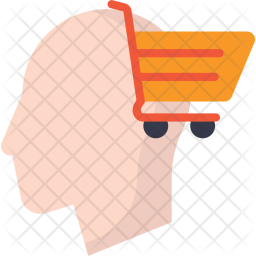 Thinking about Shopping Icon