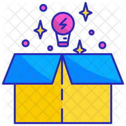 Thinking Out Of The Box Icon