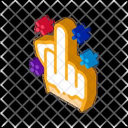 Third Finger Icon