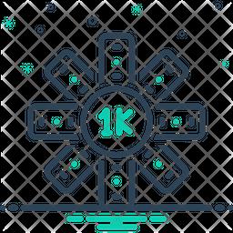 Thousand Icon