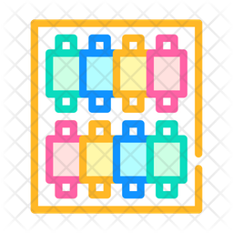 Threads Color Icon