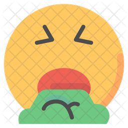 Throw Up Emoji Icon