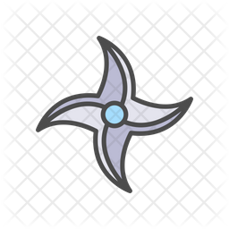 Throwing Star Icon