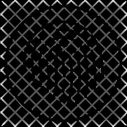 Thumbprint Line Icon