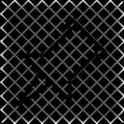 Thumbtack Line Icon