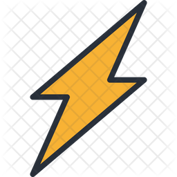 Thunder Icon Of Colored Outline Style Available In Svg Png Eps Ai Icon Fonts