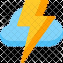 Thunder Flat Icon